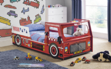 Fire Engine 999 Bed